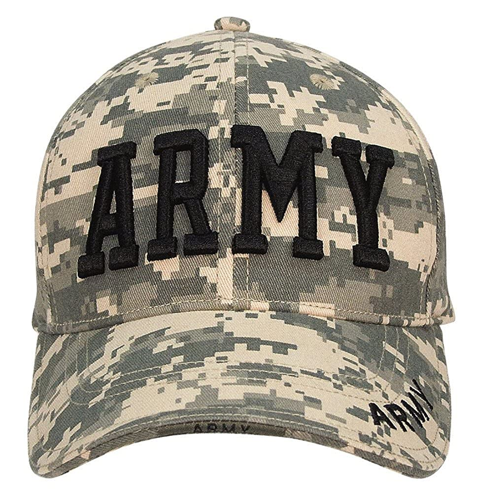 Army Deluxe Low Profile Cap ACU Digital at Amazon Men s Clothing store  e8fbe66998ce