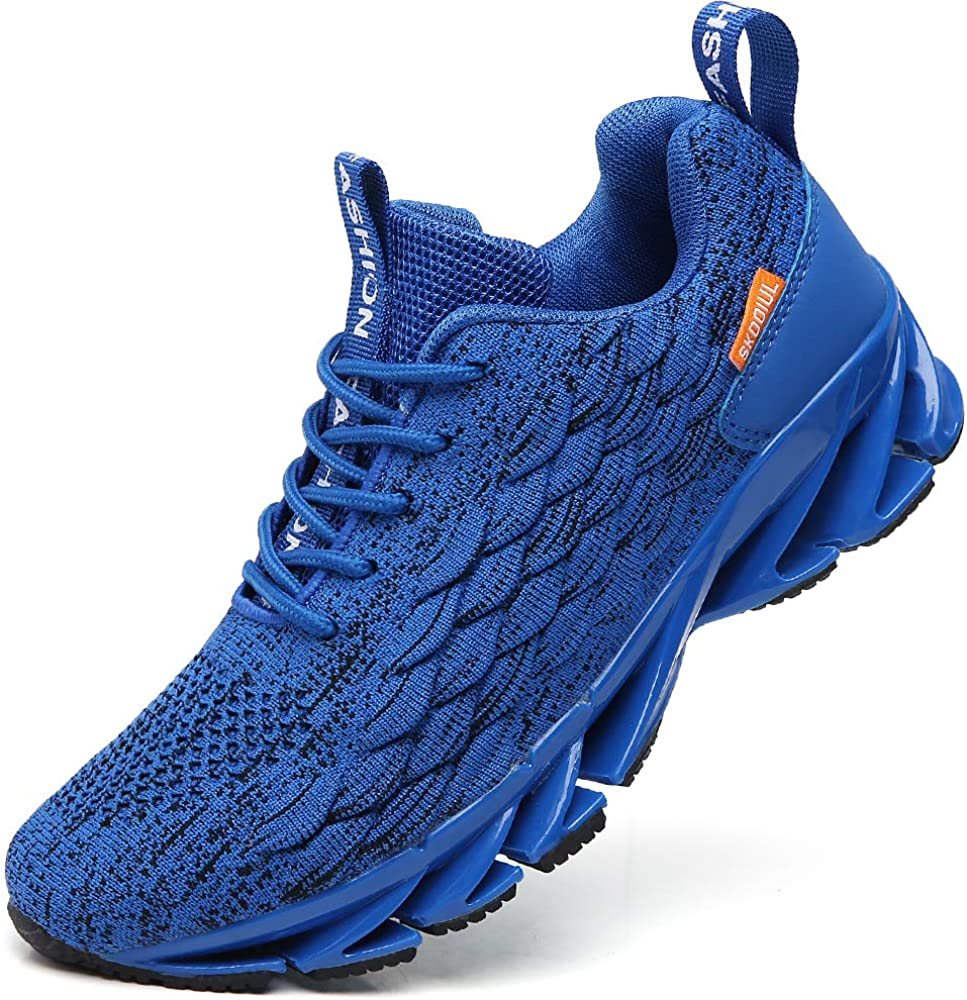 TSIODFO Men Sneakers Time sale Mesh It is very popular Breathable Runn Sport Athletic Comfort