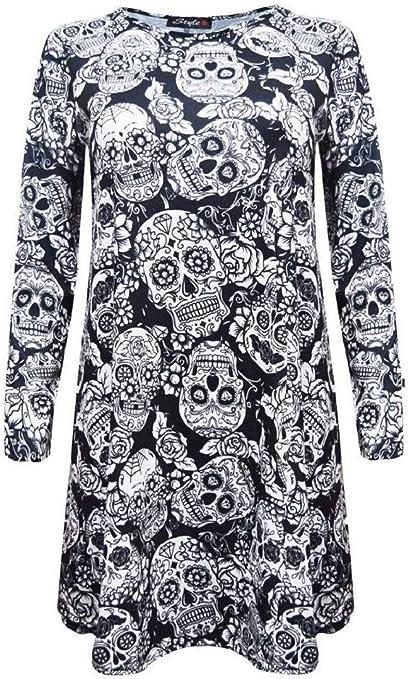 Acheter robe tete de mort online 17