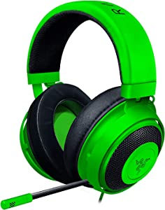 Razer Kraken - Gaming Headphones for PC, PS4, Xbox One and Switch with 50 mm Drivers and Cooling Gel-Infused Cushions - Green