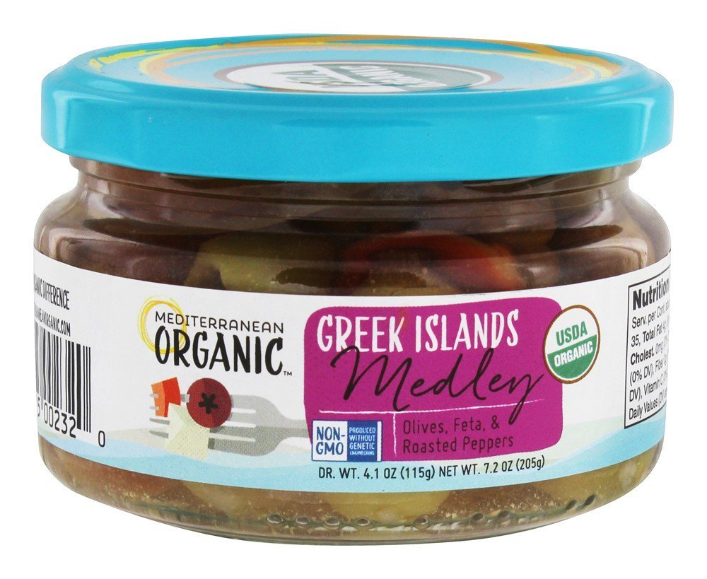 Mediterranean organic anics Medium Greek Island, 7.2 oz