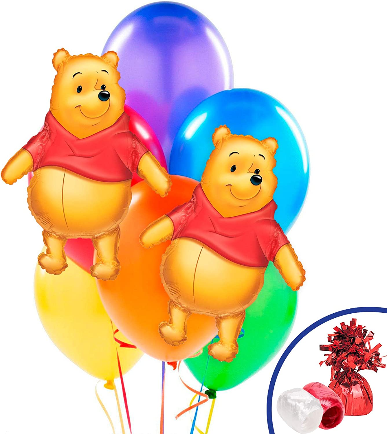 Mayflower Products Winnie The Pooh 3 pc Jumbo Foil Balloon Party Supplies and...
