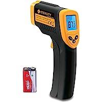 Etekcity 774 - Termómetro Infrarrojos Digital (Medidor de Temperatura sin Contacto, -50 hasta +380 °C, Iluminación LCD…