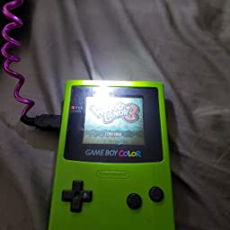 Amazon Com Worm Light Illumination Led Lamps For Gbc Gbp Gameboy Color Gameboy Pocket Computers Accessories