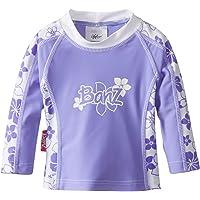 Baby Banz bebé Rash Guard Upf 50+ de manga larga para niña