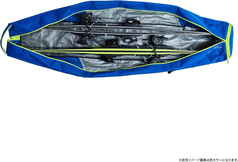 Sacca Portasci Pratica per 2 Paia di Sci da 175-195 cm di Lunghezza Unisex Adulto Salomon Extend 2 Pairs 175+20 SkiB