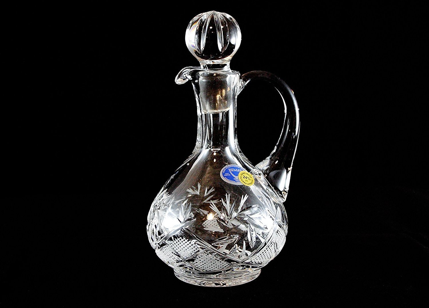 Russian CUT Crystal 5 Oz/150 Ml Carafe/decanter Hand Made by Belarus Neman Crystal COMINHKPR75720
