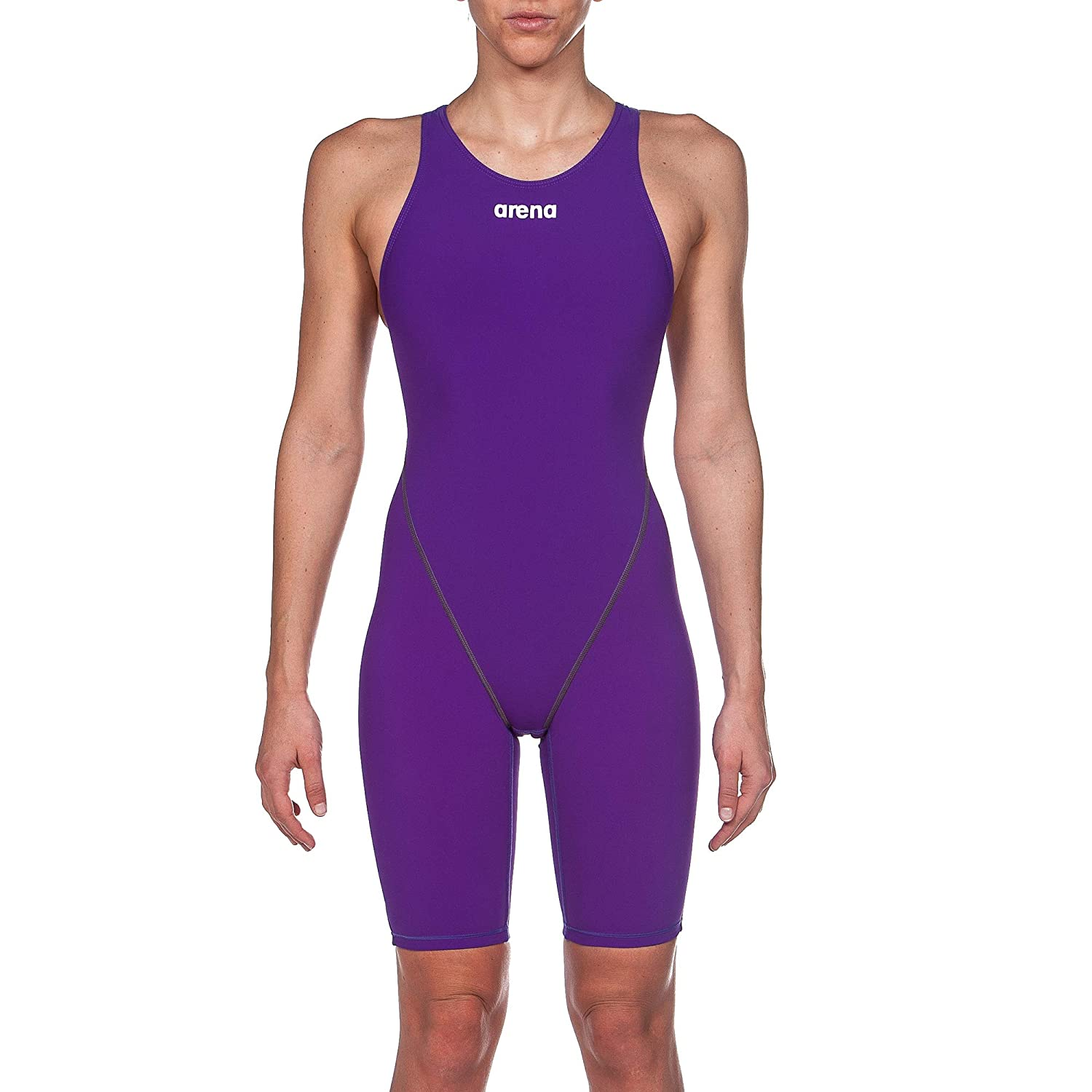 Purple arena Powerskin ST 2.0 Women's One Piece Open Back Racing Swimsuit
