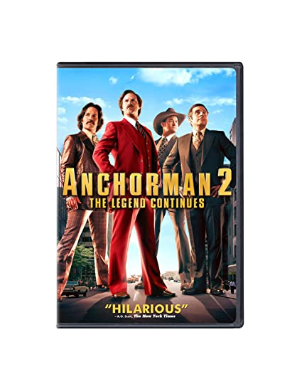 Anchorman 2: The Legend Continues [Reino Unido] [DVD ...
