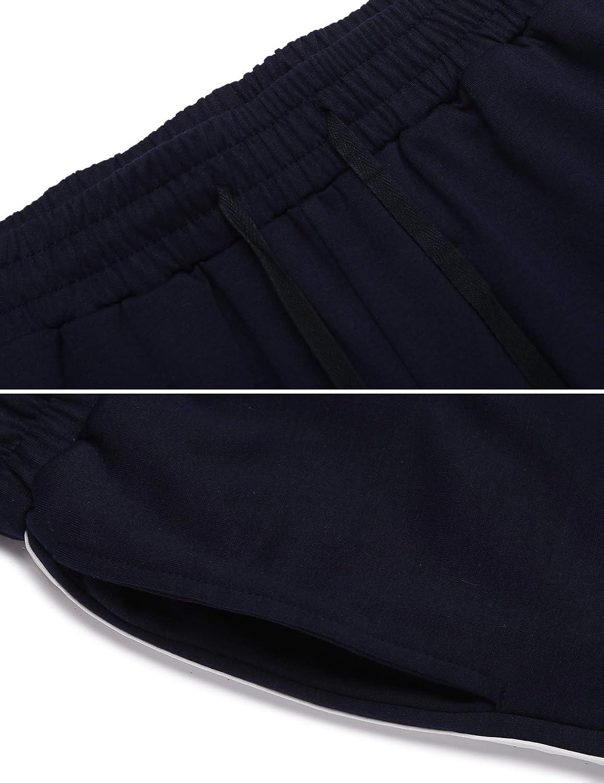 ADOME Pantalones Deportivos Mujer Ch/ándal Pantalones de Entrenamiento Casuales Ropa Deportiva Pantalones Largos Pantalones de Deporte Yoga Fitness Jogger Pantalones de Punto S-XXL