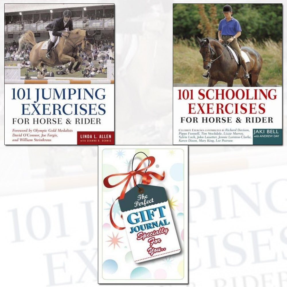 101 Jumping Exercises and Schooling Exercises For Horse and Rider 2 Books  Bundle Collection with Gift Journal: Amazon.co.uk: Linda Allen, ...