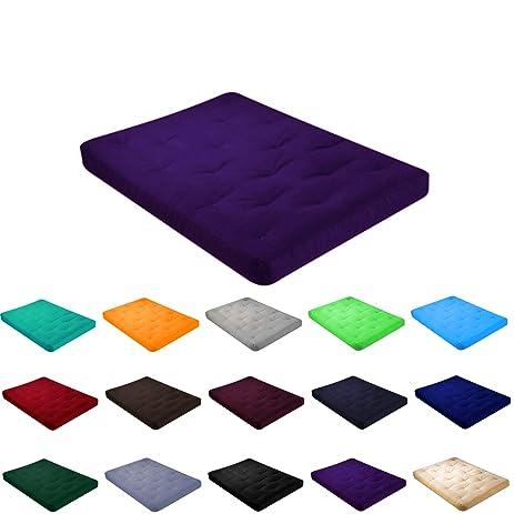 4 u0026quot  all cotton futon mattress with cover  twin 75x39x4      amazon    4   all cotton futon mattress with cover  twin 75x39x4      rh   amazon