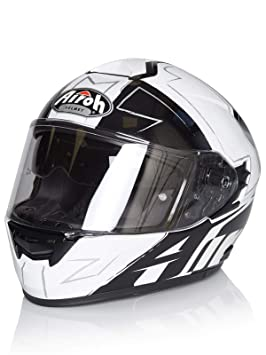 Casco Moto Airoh 2018 St701 Way Negro Gloss (S , Negro)