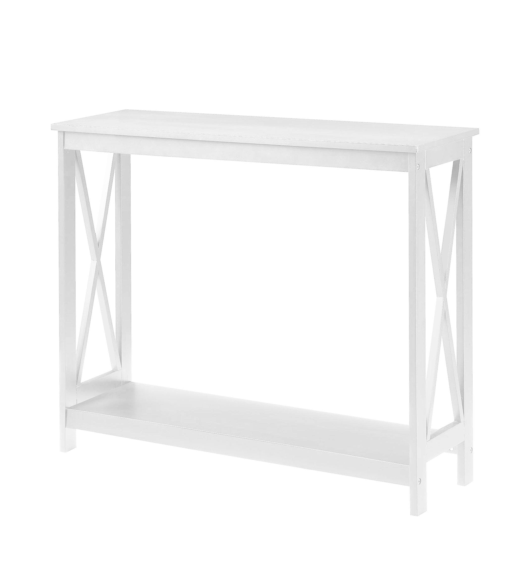 Convenience Concepts Oxford Console Table, White