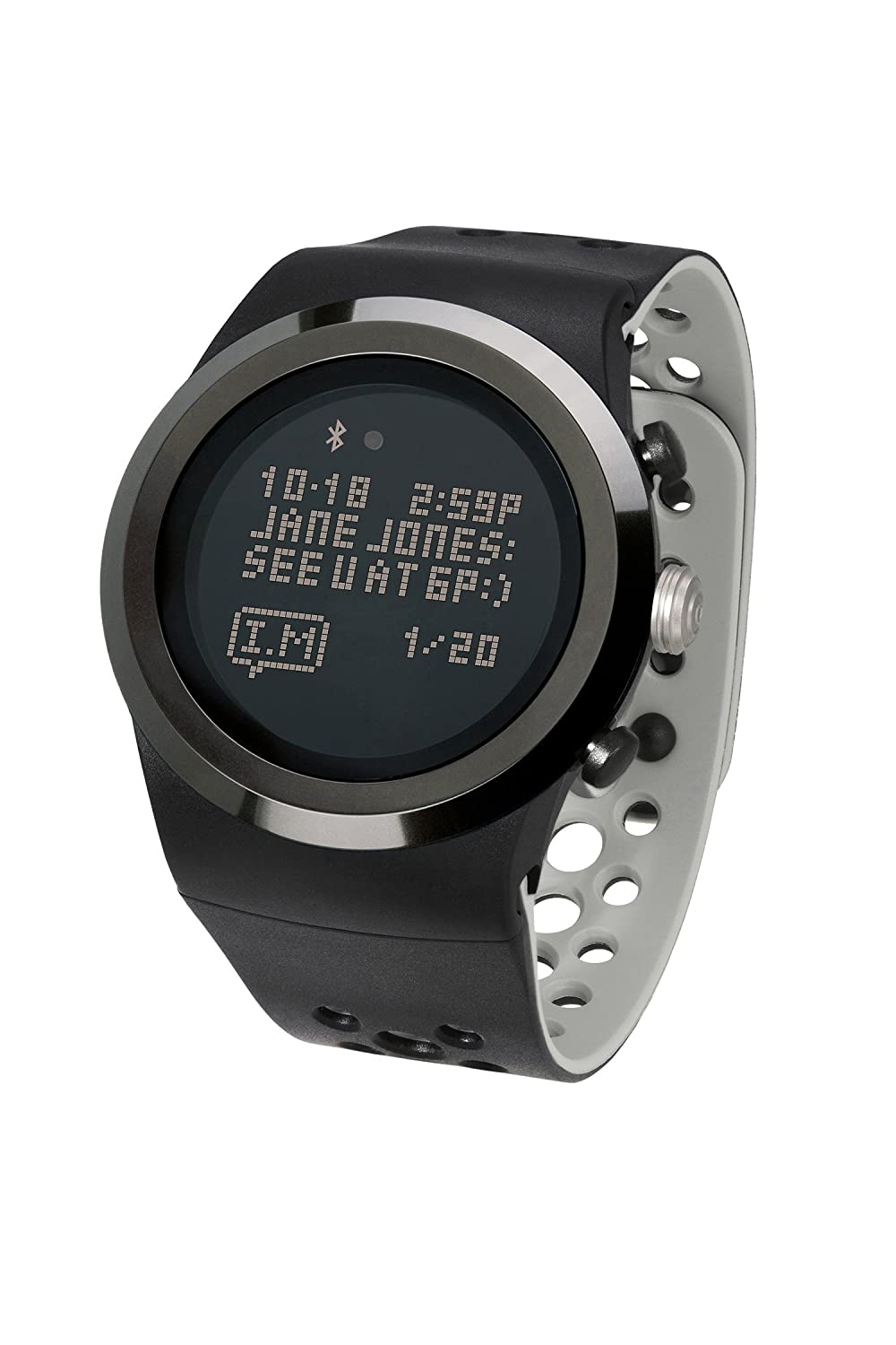 Lifetrak Brite R450 Heart Rate Watch Midnight Black Titanium Amazon In Sports Fitness Outdoors