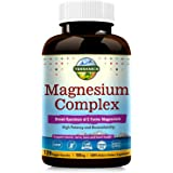 Terranics Magnesium Complex, Broad-Spectrum, 500mg, 120 Veggie Capsules, Chelated for Maximum Absorption, Support Sleep…