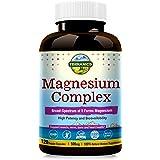 Terranics Magnesium Complex, Broad-Spectrum, 500mg, 120 Veggie Capsules, Chelated for Maximum Absorption, Support Sleep Stres