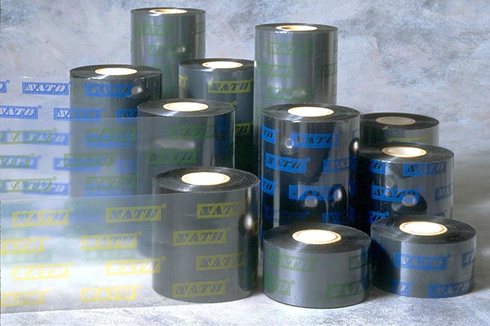 Sato 12S000112 T110A Premier II Wax/Resin Ribbon, CSI, 4.3'' W x 1345' L, 1'' Core  (Pack of 25)