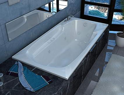 Drop In Jetted Tub.Avano 4272ewr Aruba 71 Drop In Whirlpool Tub With 8