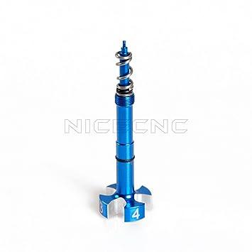 Amazon nicecnc motorcycle blue airfuel mixture screw adjuster nicecnc motorcycle blue airfuel mixture screw adjuster keihin fcr carb for k tm fandeluxe Choice Image