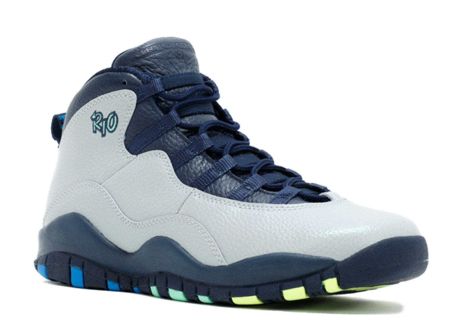 d4ace1453deb7c Galleon - Jordan Air X (10) Retro (City Pack  Rio) (Kids) Grey
