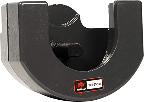 fits on 2 inches Coupler AMPLOCK TLS2 Boat Trailer Lock//Trailer Lock//RV Lock