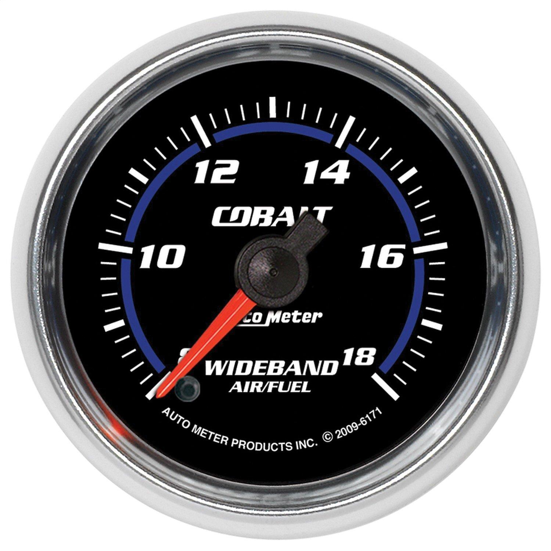 Auto Meter 6171 Cobalt 2-1/16'' Wideband Air/Fuel Ratio Analog Gauge