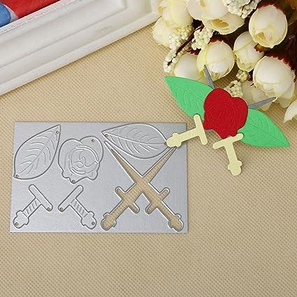 KIMODO Troqueles de corte, herramienta de corte para plantilla, plantilla, molde para hacer tarjetas, álbum de recortes, tarjetas de papel, manualidades, ...