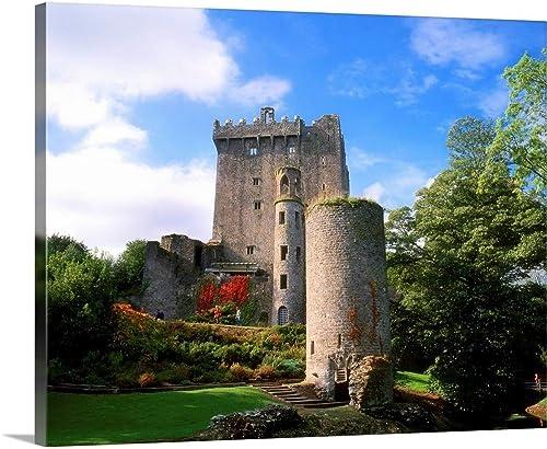 Blarney Castle Canvas Wall Art
