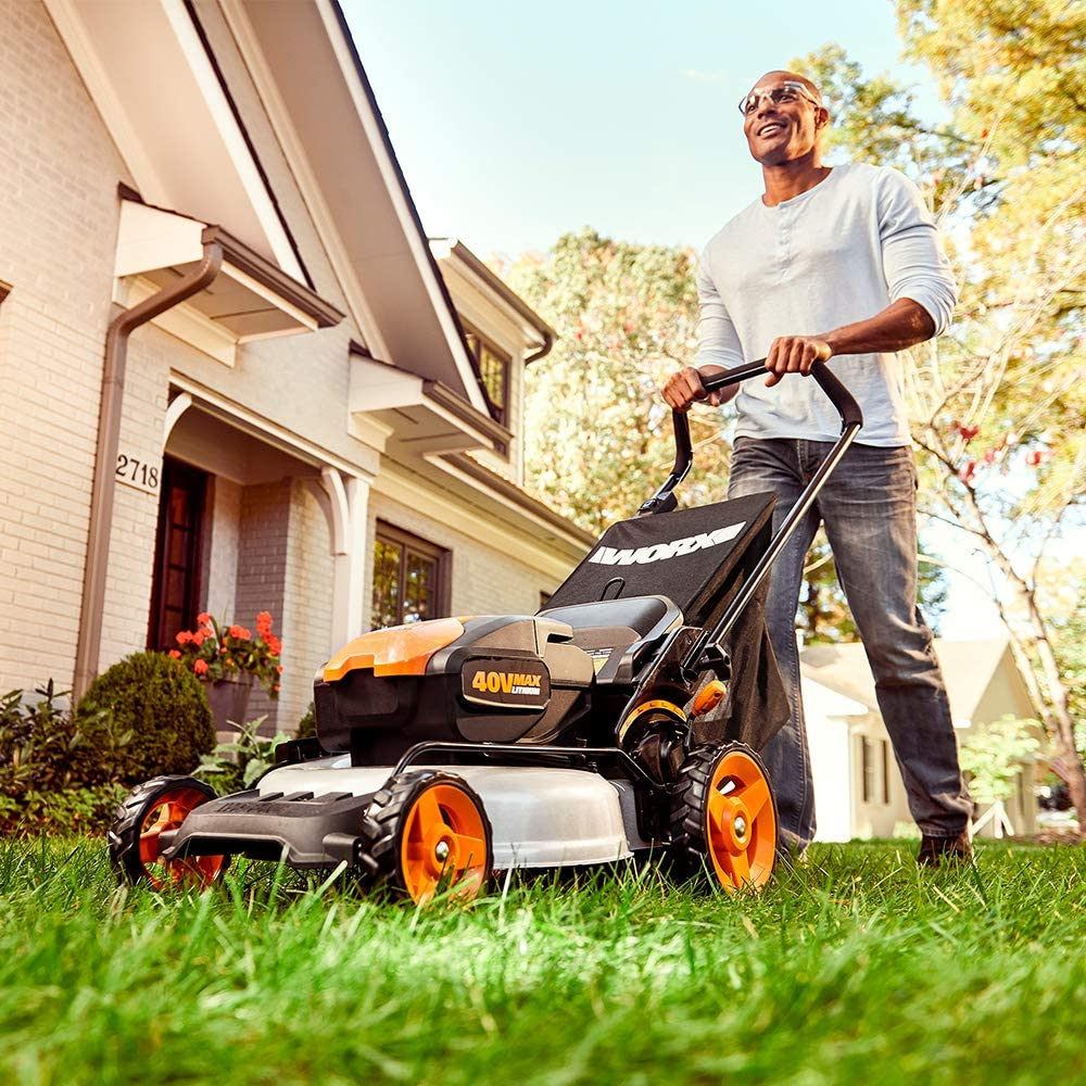 WORX WG958 Cordless Lawn Mower