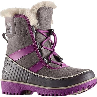 Sorel Tivoli II Boot Youth - Light Grey - Girls - 4
