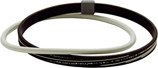 Phiten Titane Cheville Slash Line, 22,9cm, Noir/gris 9cm Phiten USA Inc TB014031