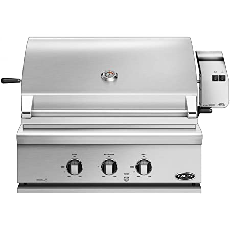 DCS Built-in Traditional Grill with Rotisserie 71303 BH1-30R-N , 30-inch, Natural Gas