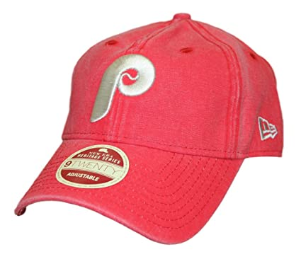 5ac6b276aa1 Image Unavailable. Image not available for. Color  New Era Philadelphia  Phillies 9Twenty Cooperstown Classic Wash Adjustable Hat