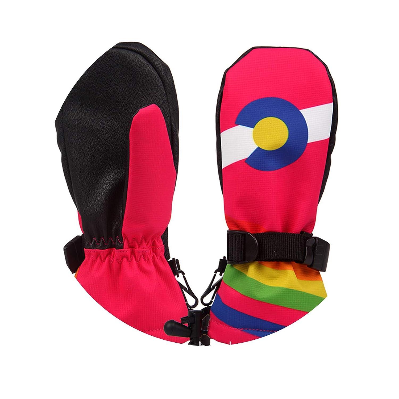 Beydodo Sporthandschuhe Kinder Handschuhe Wasserdicht Fahrrad Trainingshandschuhe Outdoor