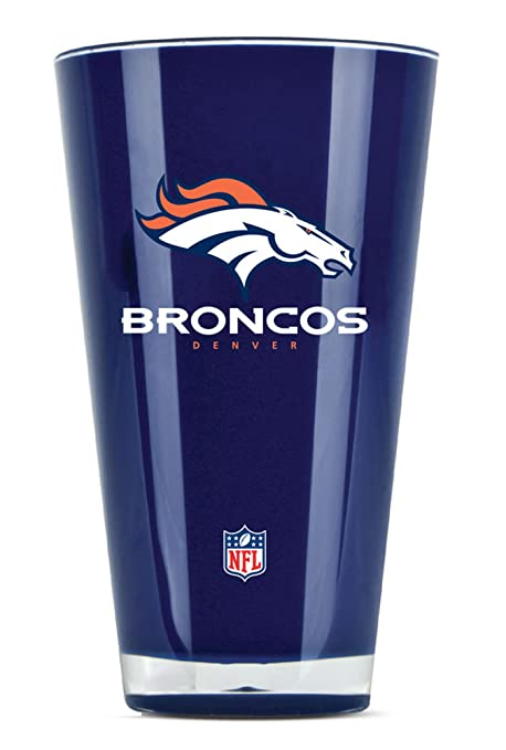 Duck House NFL Denver Broncos único Vaso: Amazon.es: Deportes y ...