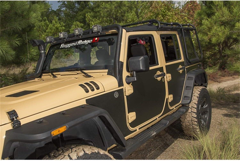 Rugged Ridge Magnetic Protection Panel 9 Piece Kit 07-18 Jeep Wrangler JK 2 Door