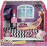 Barbie Doll and Bedroom Furniture Set, Multi Color