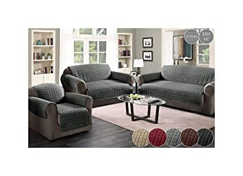 Shawsdirect Chairsofa Protectors For Chairs 2 Seaterloveseat And