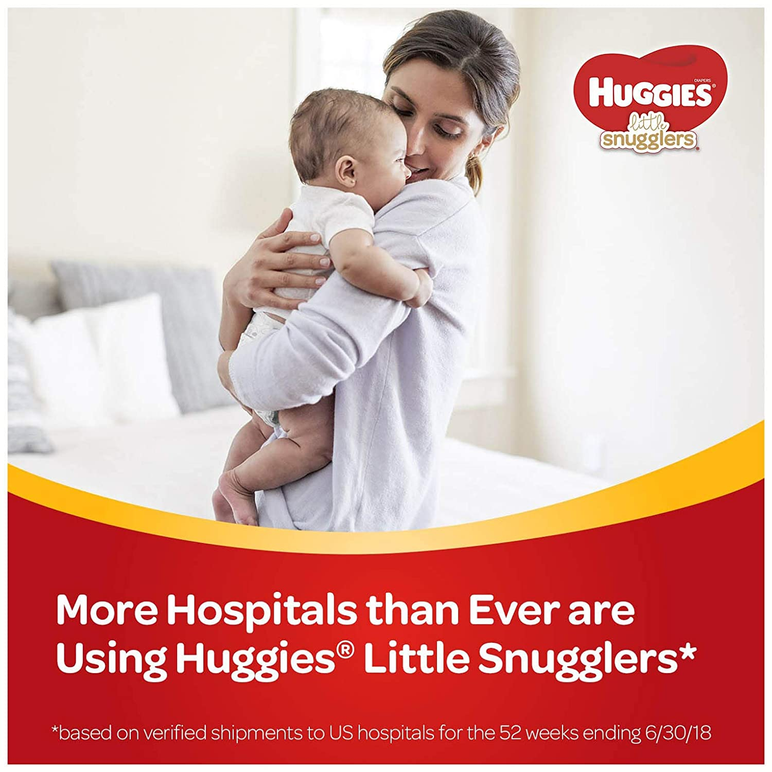 66 Count Size 4 Huggies Little Snugglers Baby Diapers