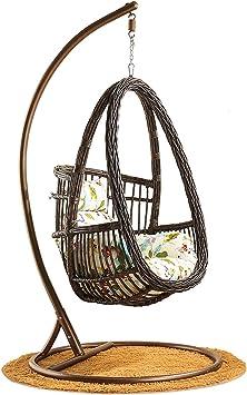 Rotan Hangstoel Bruin.Hoiho Outdoor Vrije Tijd Hangende Mand Stoel Creatief Eivormig Pe