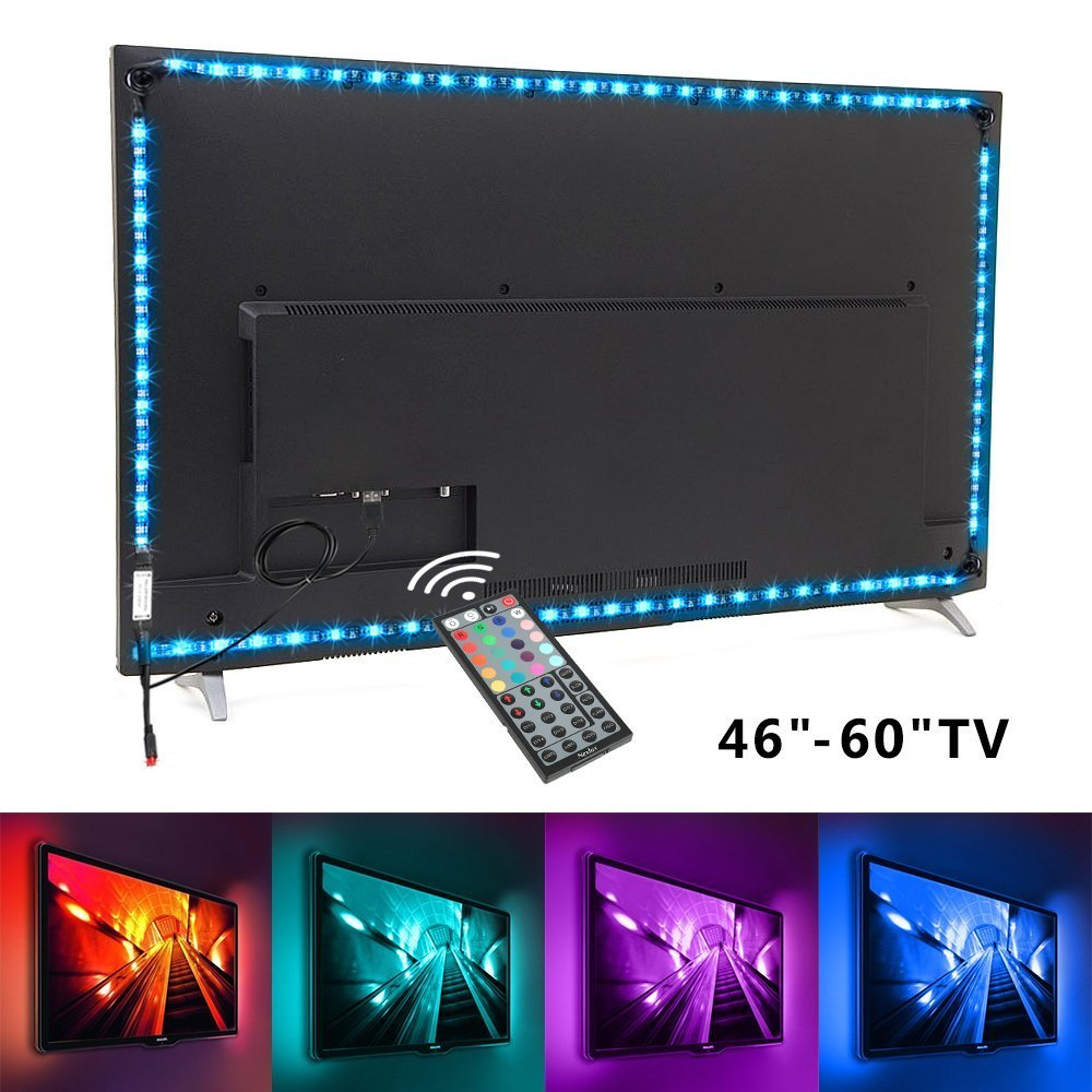 TV backlight ,3M LED TV Lights USB Kit 5050 RGB Multicolor Back ...
