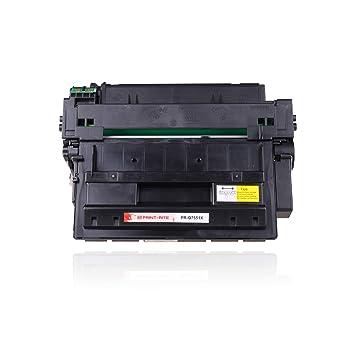 Print-Rite Compatible Toner q7551x 51x Negro Cartucho de ...
