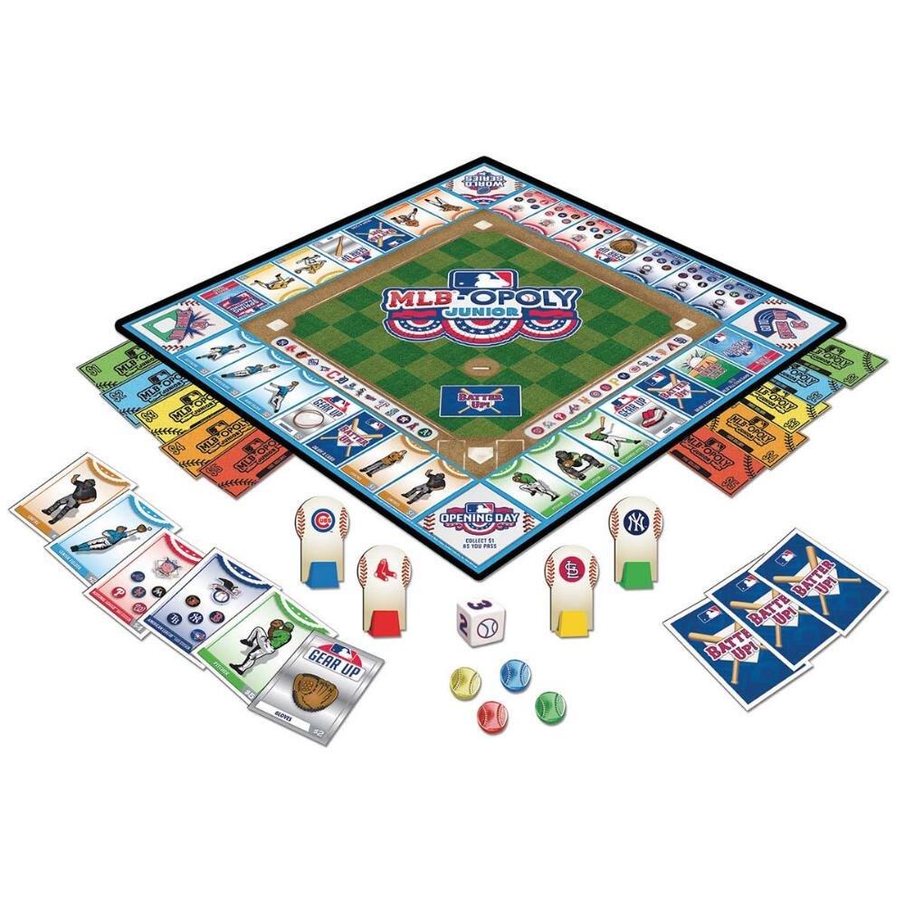 MLB-Opoly Junior Masterpiece Puzzles SG/_B072LQVLBS/_US