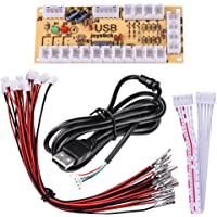 Quimat Zero Delay Arcade USB Encoder Board to Joystick for Mame Jamma & Other PC Fighting Games