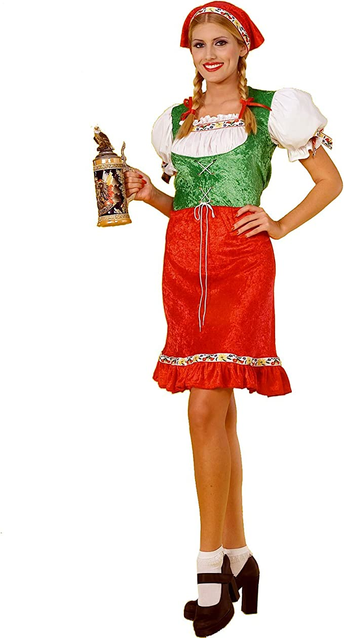 Amazon.com: Gretel traje (Regular Mujer Talla de Adulto ...