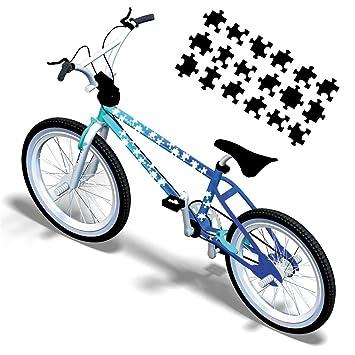 Puzzle piezas puzzle Pegatinas para la bicicleta Pegatinas para ...