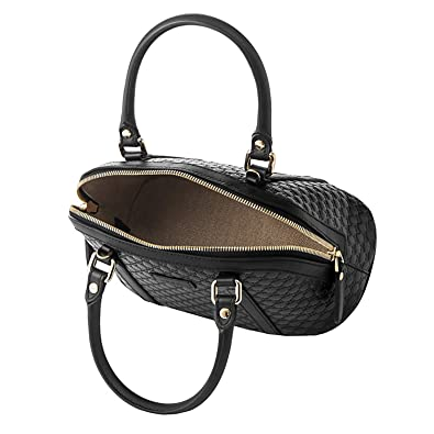 a4f8254e8db Amazon.com  Gucci microguccissima bag black leather 449654 BMJ1G 1000  Shoes