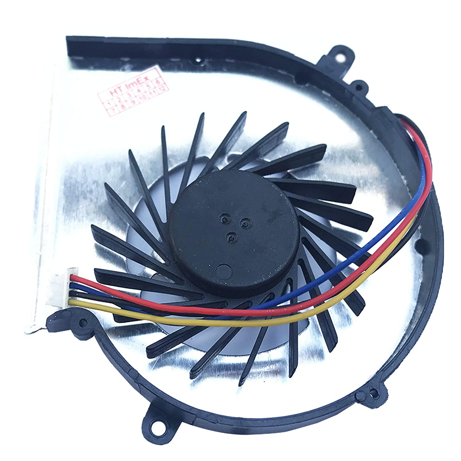 GPU 4 Pin Version Fan Cooler Compatible with MSI MSI PE70 MS-1795 MS-1799 GE72MVR 7RG GE72 2QF MSI PE70-6QE MS-1791 GL62M 7RDX MS-16J9 MS-179C GL72 7RDX MSI PE70-2QE MSI GE62 2QC