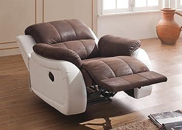 Mapo Möbel Microfaser Relax Sofa Mikrofaser Relaxsessel Fernseh
